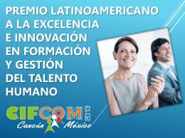 Premio latinoamericano a la investigación en