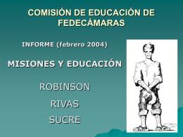 COMISIÓN DE EDUCACÍÓN DE FEDECÁMARAS