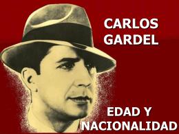 CARLOS GARDEL - Centro de Dança Carlos Peruzzo