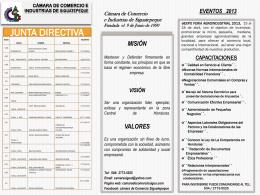 Cámara de Comercio e Industrias de Siguatepeque