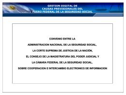 Diapositiva 1 - Poder Judicial de la Nación