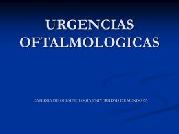 Urgencias Oftalmológicas