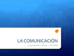 Unidad 7: La comunicación