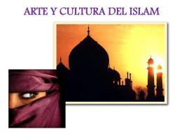 ARTE Y CULTURA DEL ISLAM Características