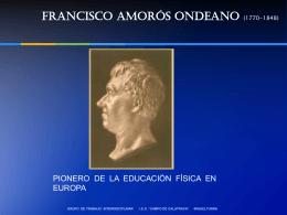 FRANCISCO AMORÓS ANDEANO