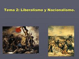 Geografía e Historia 4º ESO Tema 2: Liberalismo y