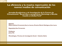 Diapositiva 1 - Cátedras | Facultad de Ciencias