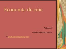 Economía de cine - WEB EN MANTENIMIENTO