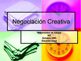 Negociación Creativa