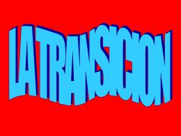 La transición - Ministerio Crecer