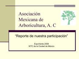 Asociación Mexicana de Arboricultura, A. C