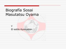 Biografía Sensei Massutatsu Oyama