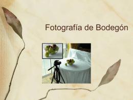 Fotografía de Bodegón