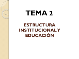 4.5. El sistema educativo en España