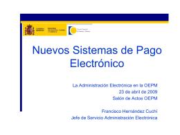 Diapositiva 1 - Oficina Española de Patentes y