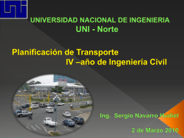 UNIVERSIDAD NACIONAL DE INGENIERIA FACULTAD DE