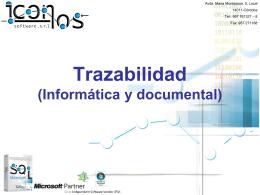 Departamento comercial - Iconos Software Córdoba