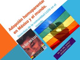 Adopción homoparental en México y el mundo.