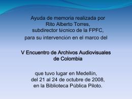 Centro de Conservación de Soportes Audiovisuales