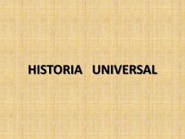 HISTORIA UNIVERSAL - eGrupos, El último destino