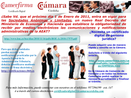 Diapositiva 1 - Cámara de Córdoba