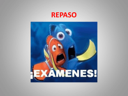 REPASO - Español con clase