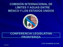 Comisión Internacional de Límites y Aguas entre
