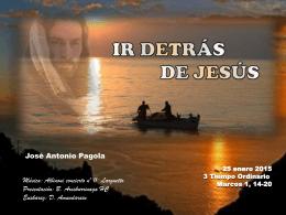 Ir detrás de Jesús