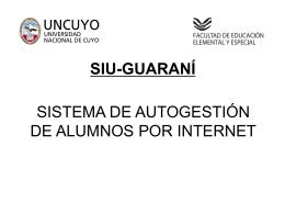 SISTEMA DE AUTOGESTIÓN DE ALUMNOS VIA WEB