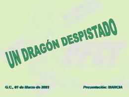 Un dragón despistado