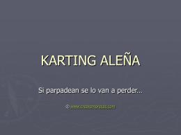 KARTING ALEÑA - crearempresas.com