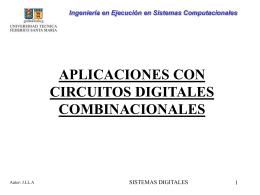 Aplicaciones Circuitos Combinacionales