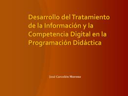 Desarrollo de la Competencia Digital en la