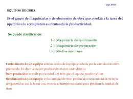 ORGANIZACIÓN DE OBRAS LEGAJO DE OBRA