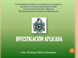 UNIVERSIDAD NACIONAL AUTÓNOMA DE NICARAGUA RECINTO
