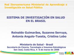 Taller nacional de investigación en salud Bolivia