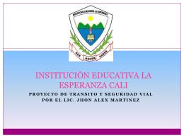 INSTITUCIÒN EDUCATIVA LA ESPERANZA CALI