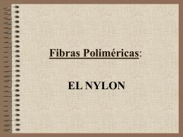 Fibras Poliméricas: