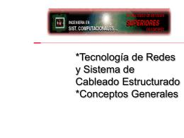 *Tecnología de Redes y Sistema de Cableado
