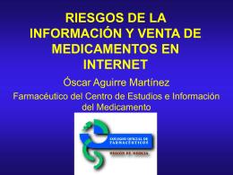 Diapositiva 1 - Colegio Oficial de Farmacéuticos