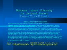 E. V. U. European Virtual University