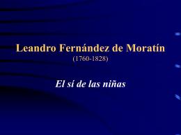 Leandro Fernández de Moratín (1760