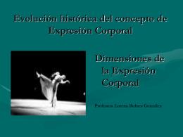Evolución histórica del concepto de Expresión