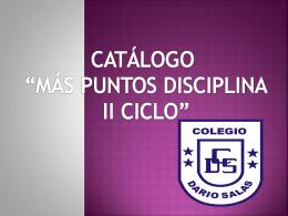 Diapositiva 1 - Corporación educacional Dario