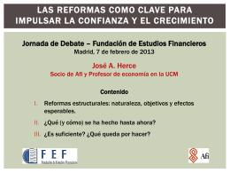 Tertulias de economía y finanzas