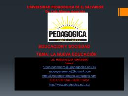 TEMA: EDUCACIÓN Y SOCIEDAD: CONCEPTOS PRELIMINARES