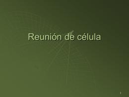 Reunión de célula