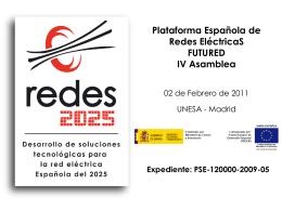 Reunión Seguimiento REDES-2025 2009-2010