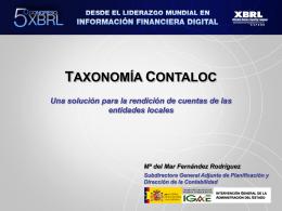 Diapositiva 1 - Asociación XBRL España | … para la