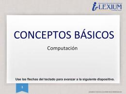 Conceptos básicos - DC